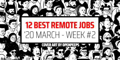 12 Best Remote Jobs of the Week